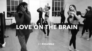 Rihanna || LOVE ON THE BRAIN || Alysha Morgan