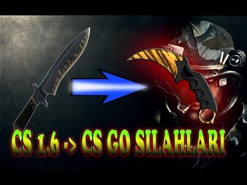CS 1.6   EN İYİ CS GO SKİNLERİ - PACK   BÜTÜN SİLAHLAR VE KARAMBİT !!!