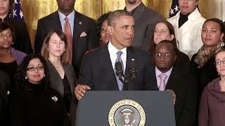 President Obama Speaks on Extending Emergency Unemployment Insurance