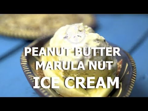 PEANUT BUTTER MARULA NUT ICE CREAM