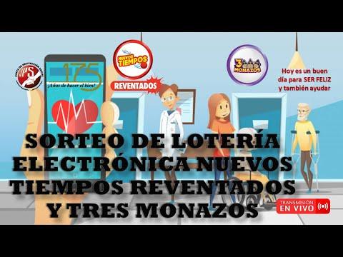 Sorteo Nuevos Tiempos Reventados #18161 Y 3 Monazos #587. 14/10/2020. JPS (Tarde)