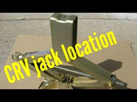 Honda CRV Jack location