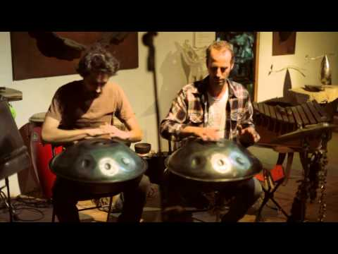 Live-metal art  handpan D minor duet