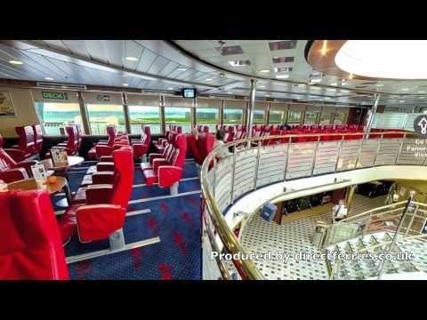 Onboard Dublin Swift ferry with Irish Ferries