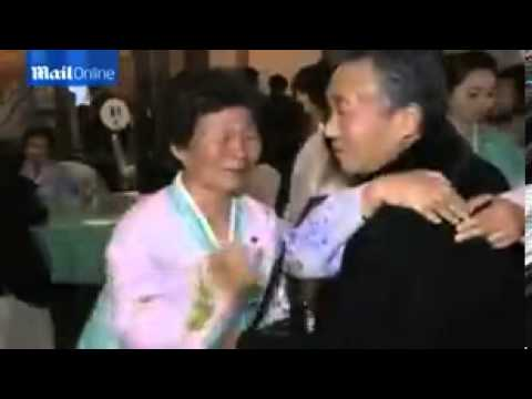 Emotional reunion for South and North Koreans