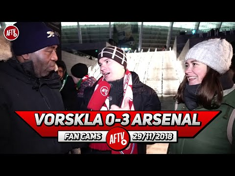 Vorskla 0-3 Arsenal | The Media Blew The Situation In Ukraine Out Of Proportion! (Ukrainian Gooners)