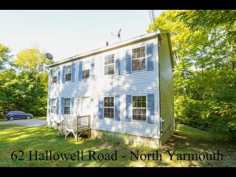 North Yarmouth Home For Sale - 62 Hallowell Road