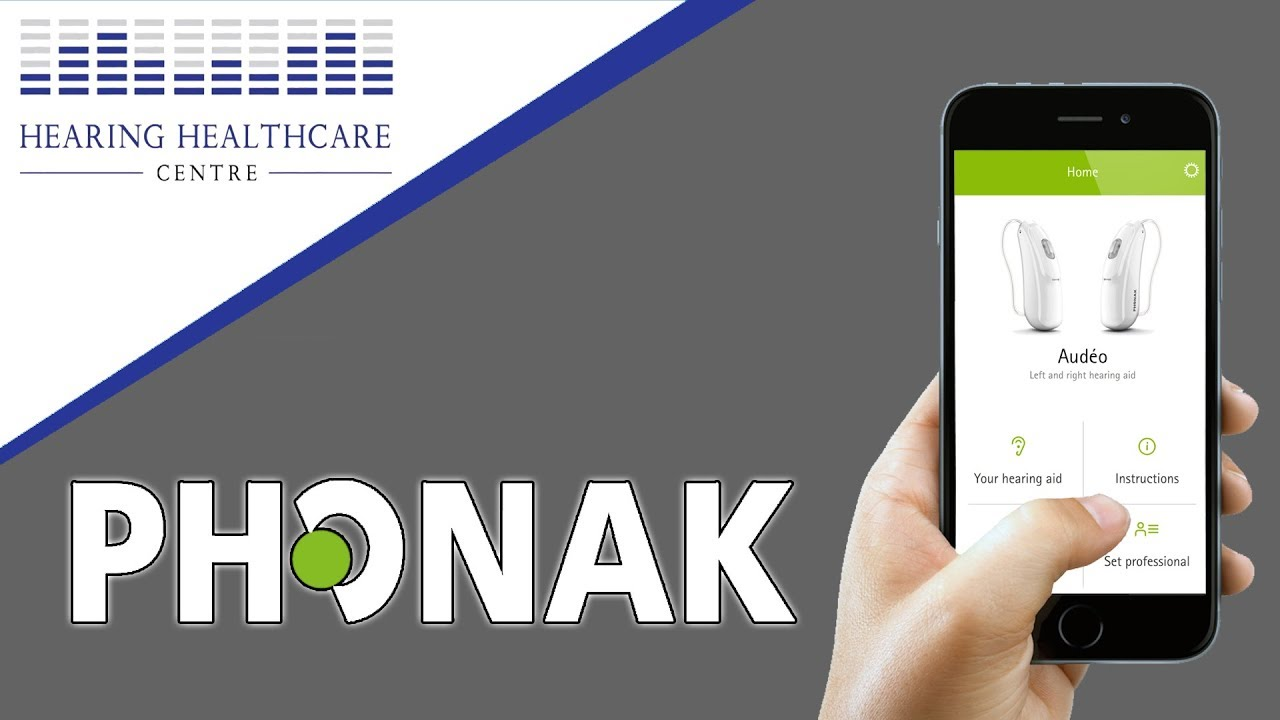 Phonak Remote Control App Demonstration!