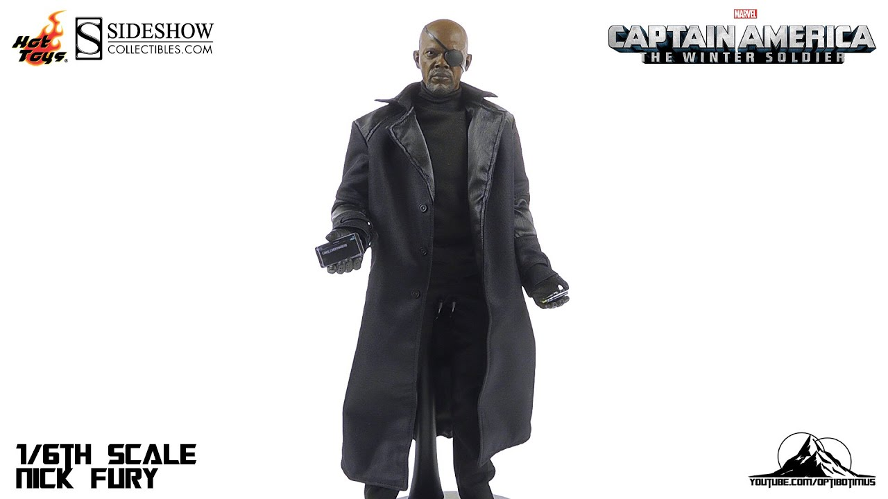 c79b88fa5ae Hot Toys Captain America The Winter Soldier NICK FURY Video Review ...