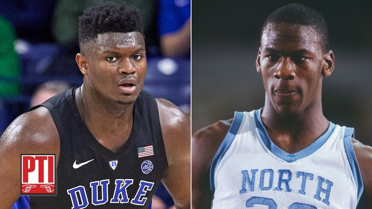 Representar desastre Sufijo  Is Zion Williamson the best NBA prospect since Michael Jordan? | PTI -  YouTube