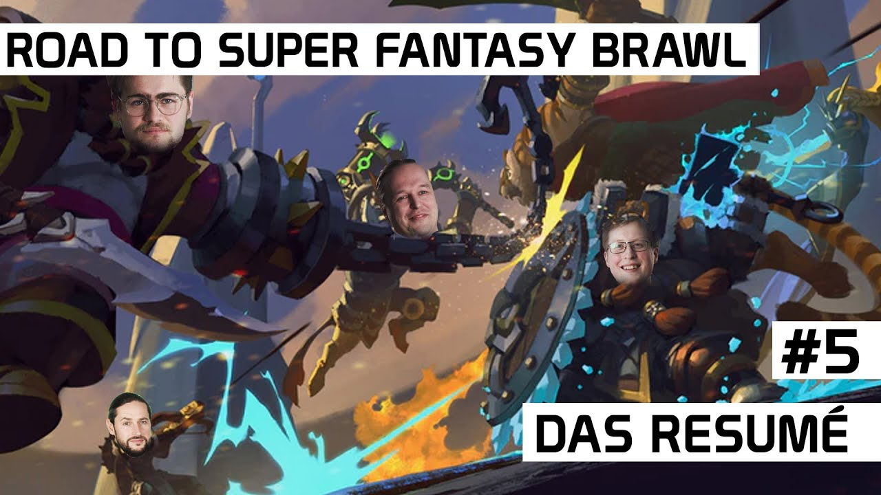 Road to Super Fantasy Brawl #5 | Das Resume | DICED
