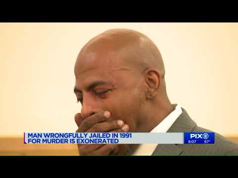 Man wrongly jailed for murder as teen in 1991 is exonerated