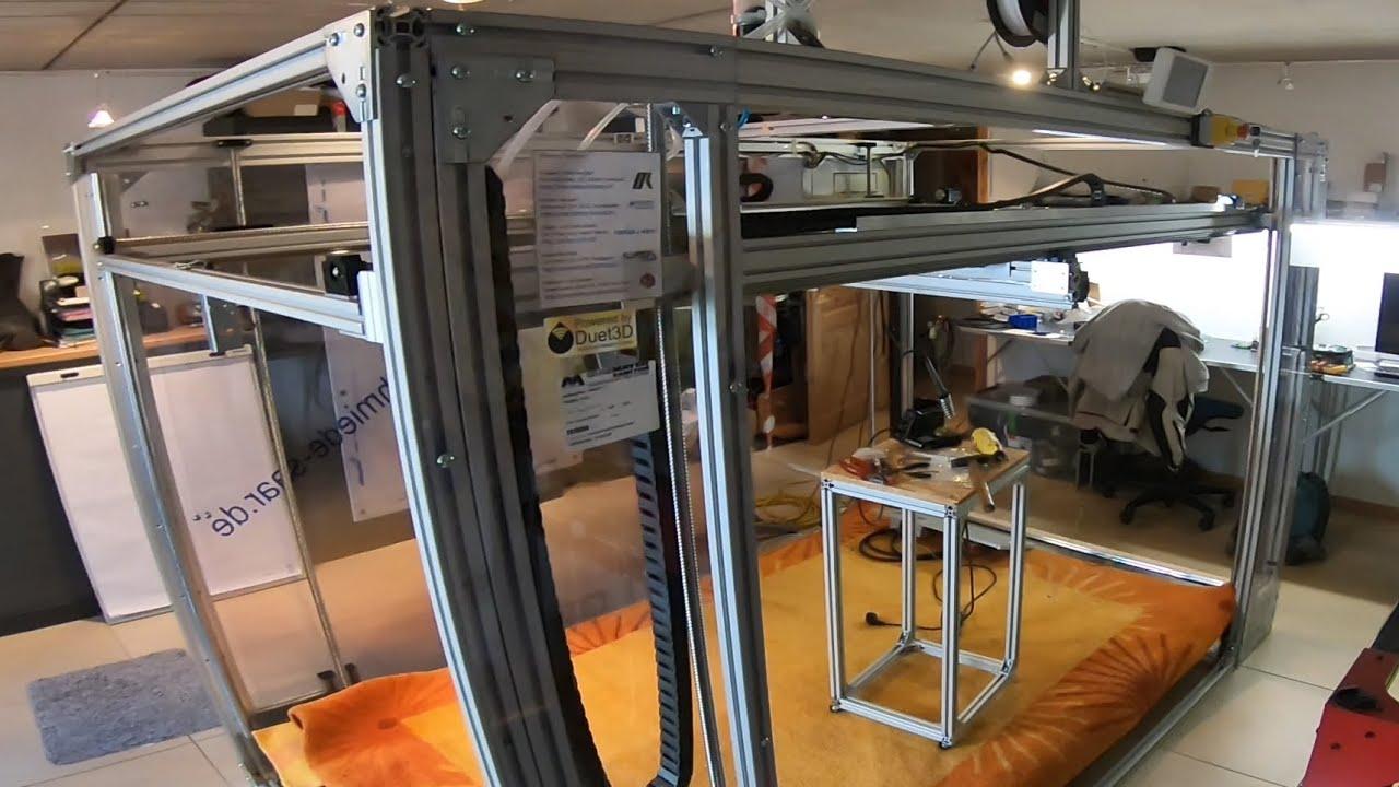 XXXL 3D Drucker endlich FERTIG!!!