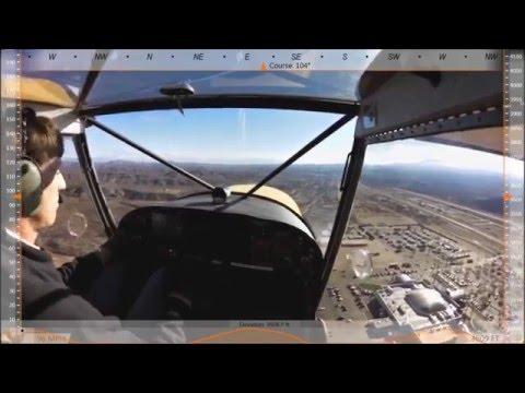 First Flight: Zenith STOL CH 701 light sport utility kit airplane