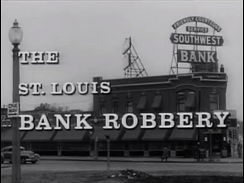 The St. Louis Bank Robbery 1959 Film Noir Crime