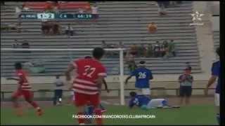 هلال بنغازي - النادي الإفريقي   الأهداف كاملة - 15/08/2015 2017 Video