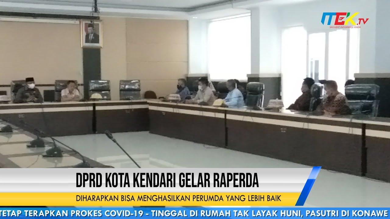 DPRD Kota Kendari Gelar Raperda, Diharapkan Bisa Menghasilkan Perumda Yang Lebih Baik
