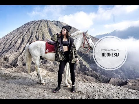 HOW TO TRAVEL INDONESIA VLOG | East Java Attractions | MOUNT BROMO | Tziaaa Travel #5