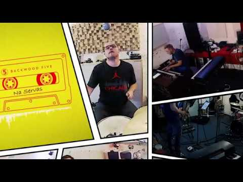 Backwood Five - Na Servas - live in the studio - hard hitting Fuzz (Funk and Jazz)