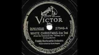 "Freddy Martin & His Orchestra - ""White Christmas"" & ""Abraham"""