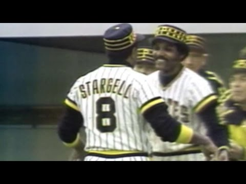 1979 NLCS Gm3: Stargell leads off the 3rd with homer