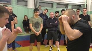 Хитрости в бою от Магомеда Маликова.
