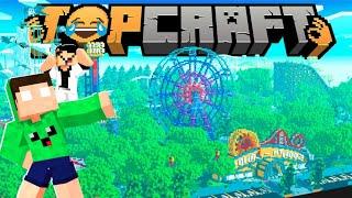 VOU construir o PARQUE DE DIVERSÕES do VIDA 144P !! - Topcraft #10