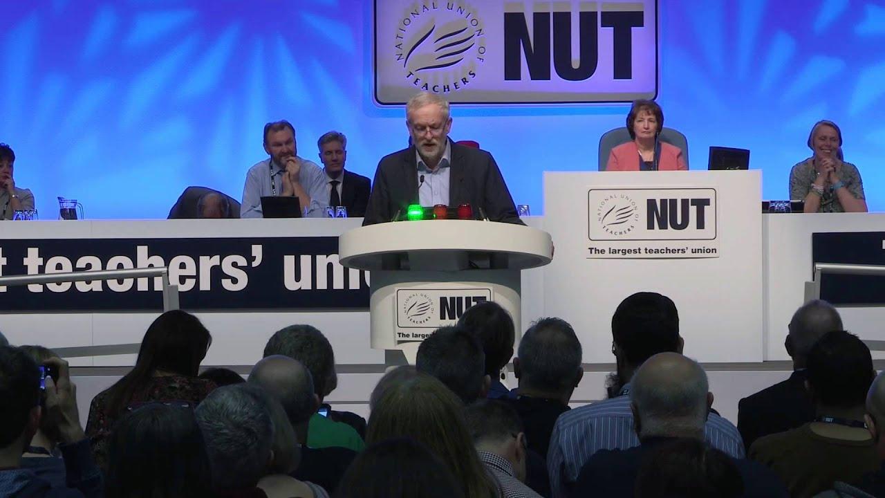 Jeremy Corbyn - National Union of Teachers' Conference Speech - 25 ...