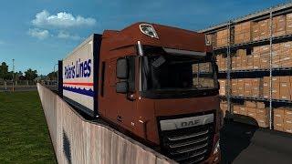 Euro Truck Simulator 2 odc.72 - Dafem przez Szwecje
