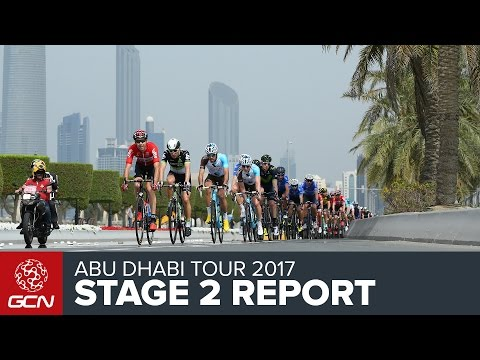 Abu Dhabi Tour Stage 2 Report