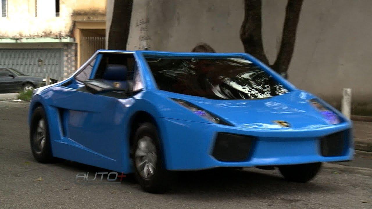 Pai Constroi Mini Lamborghini Para O Filho Youtube