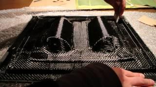 Tutorial: Out Of Autoclave PREPREG Carbon Fiber/Fibre Part 5-7 (Complex Moulds and First Parts)