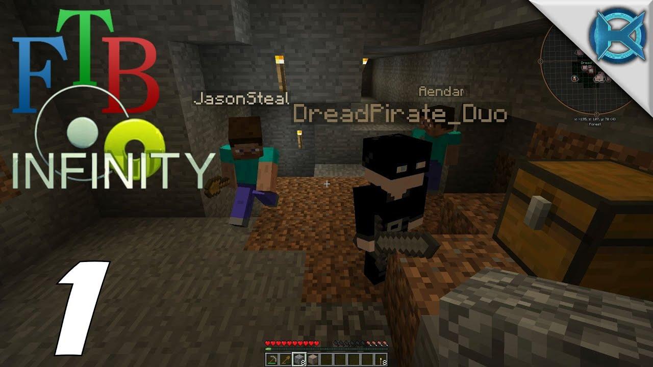 Minecraft FTB Infinity Multiplayer Gameplay Lets Play S Ep - Minecraft ftb hauser