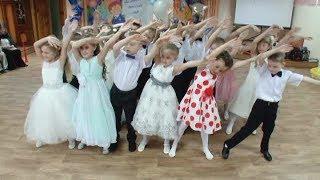 """Танец  """"Россия - мы дети твои"""". Выпускной в детском саду."""