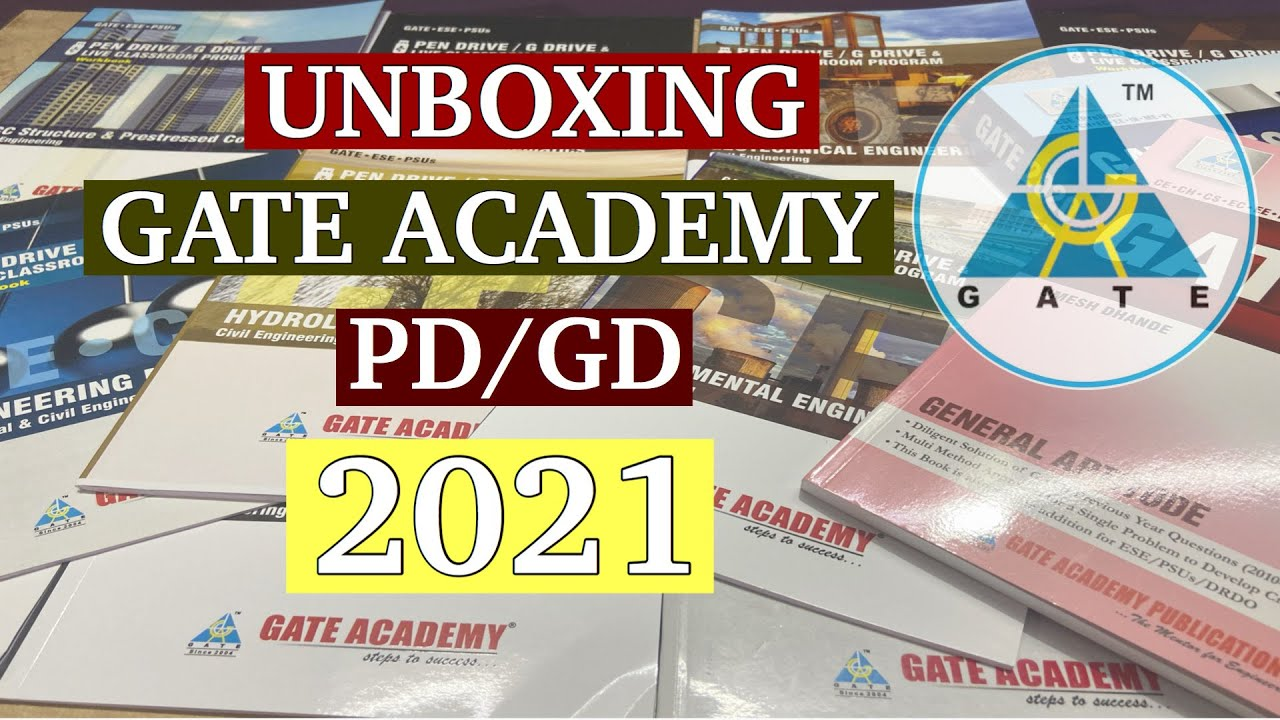 UNBOXING GATE ACADEMY PENDRIVE COURSE  (SLOT 2)