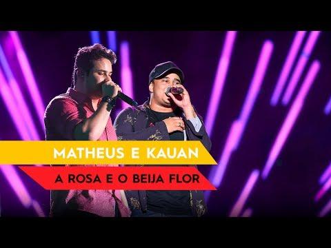 A Rosa e o Beija Flor - Matheus & Kauan - Villa Mix Fortaleza 2016 ( Ao Vivo )
