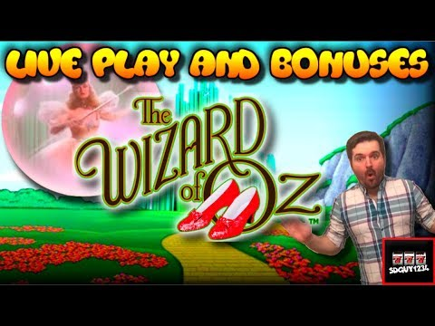 LIVE PLAY on Wizard of Oz Not in Kansas Anymore Slot Machine