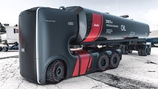 Most AMAZING Trucks And Buses From The FUTURE!