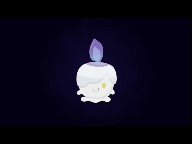 [Animation]ゆらゆら ヒトモシ |  Swining Litwick