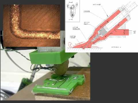 RepRap 3D Printer with Wire Embedding Capability