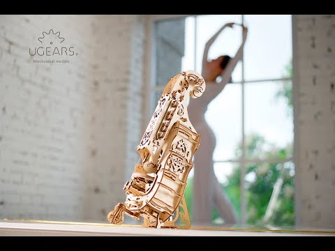 Ugears Hurdy-Gurdy Collection and Mechanical Town Series