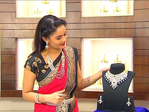 Different Collection Of Diamond & Pearls Design Necklace Sets|| Andham Abharanam || Vanitha TV
