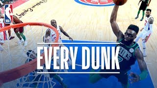 Ben Simmons, Jaylen Brown, and Every Dunk From Sunday | December 10, 2017