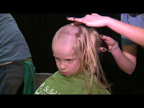 Students raise money, shave heads for St. Baldrick's Challenge