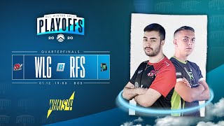 Greek Legends League Winter Split 2020 powered by What's Up | Quarterfinals | WLG vs RFS