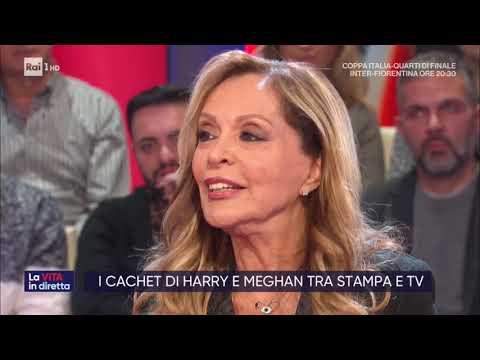 La vita canadese di Harry e Meghan - La vita in diretta 29/01/2020