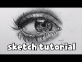How to draw an Eye - Sketching