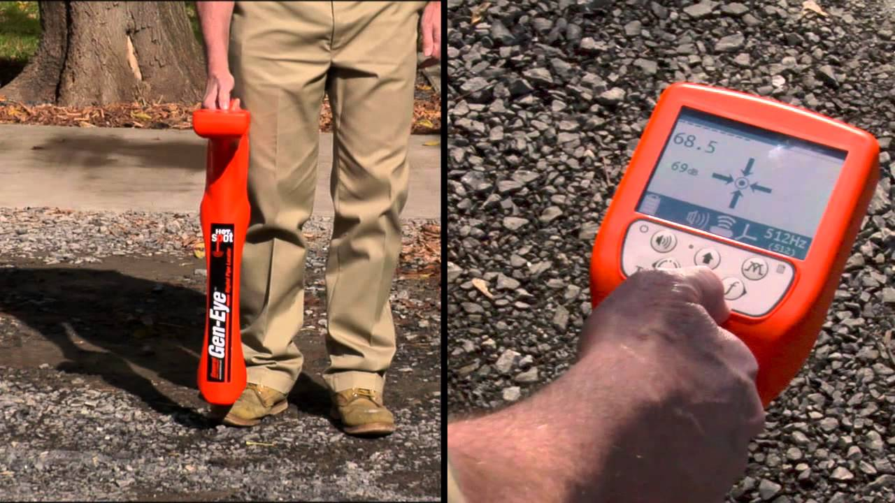 Gen-Eye Hot Spot Pipe Locator - It's simply...easier