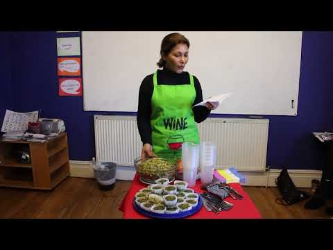 Soosan Talking About Iranian Food