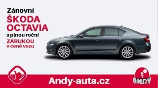 Zánovní Škoda Octavia - Andy Auta